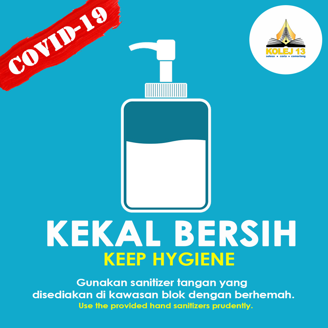 COVID-19: KEEPS HYGIENE WITH HAND SANITIZERS